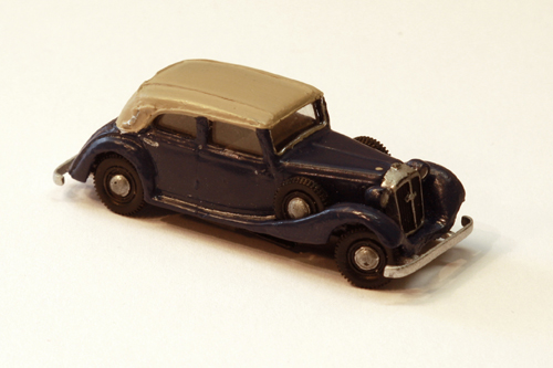 Horch 830 BL zivil